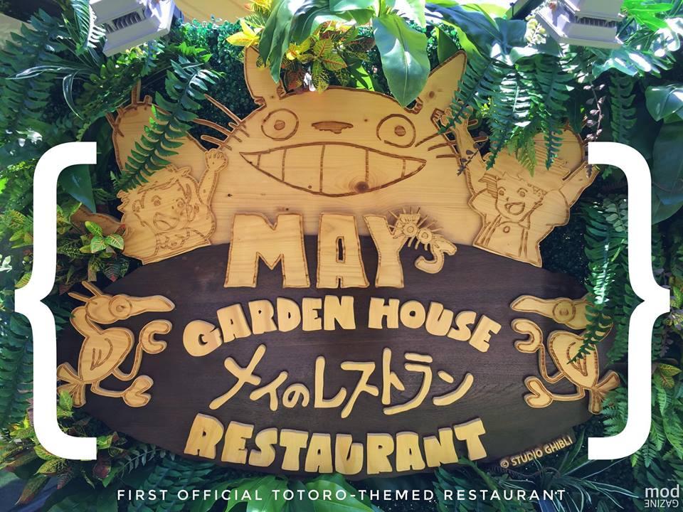 May's Garden House Restaurant - Restoran Dengan Lisensi Resmi Ghibli