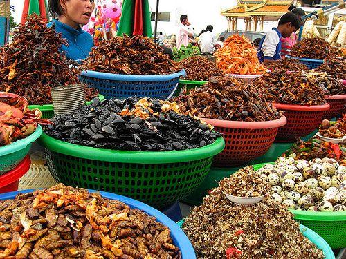 Makanan Aneh Di Thailand Yang Sangat Digemari Oleh Masyarakat Thailand