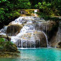 Erawan National Park - Keindahan Air Terjun Tujuh Tingkat Di Kanchanaburi
