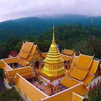Doi Suthep - Kuil Indah Diatas Gunung Yang Penuh Ketenangan