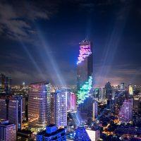 Mahanakhon - Gedung Tertinggi Dengan Arsitektur Unik Di Bangkok