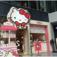 Hello Kitty Cafe Yang Imut Di Bangkok, Thailand
