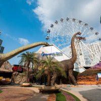 Serunya Dikejar Dinosaurus Di Dinosaur Planet Bangkok