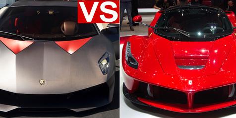 Ferrari Atau Lamborghini ? Pilihan Para Konglomerat